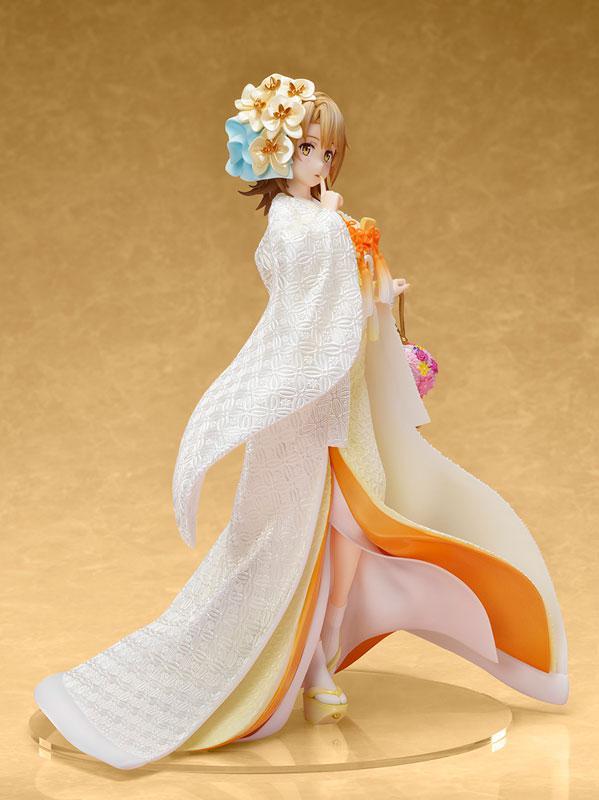 My Teen Romantic Comedy SNAFU. Completion Iroha Isshiki -White Kimono- 1/7 Complete Figure 3