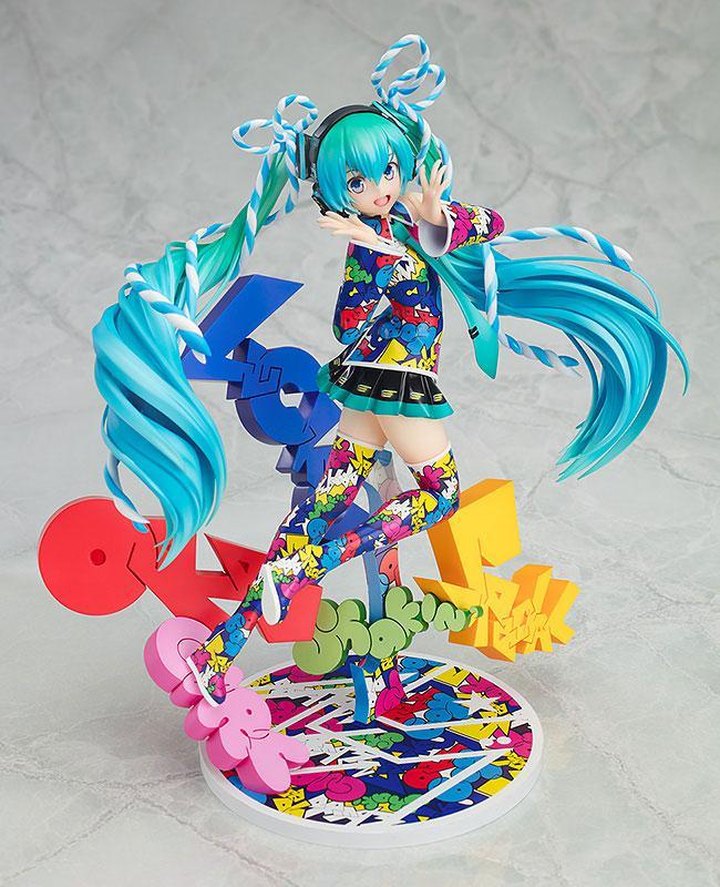 Hatsune Miku MIKU EXPO 5th Anniv. / Lucky*Orb: UTA X KASOKU Ver. 1/8 Complete Figure