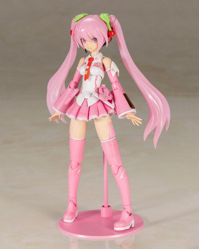 Frame Arms Girl Frame Music Girl Sakura Miku Plastic Model 1