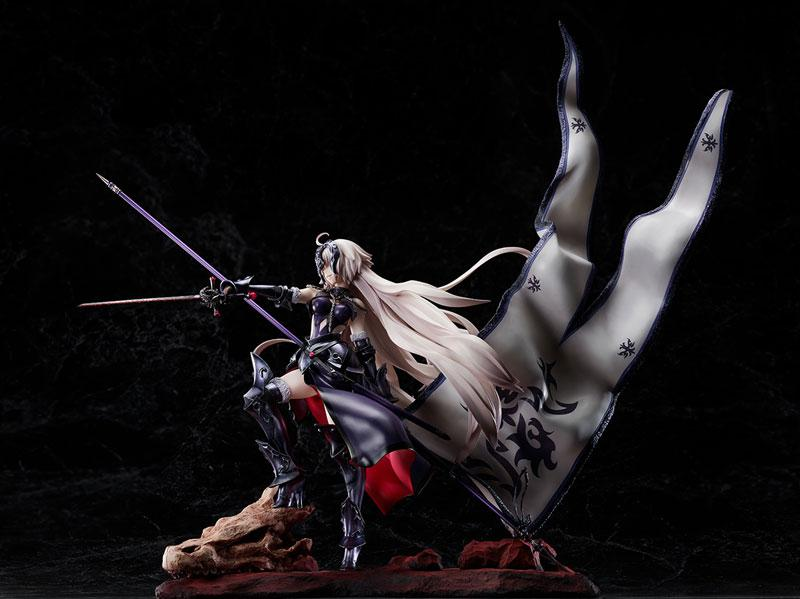 Fate/Grand Order Avenger / Jeanne d'Arc [Alter] Kuraki Homura wo Matoishi Ryuu no Majo 1/7 Complete Figure 3