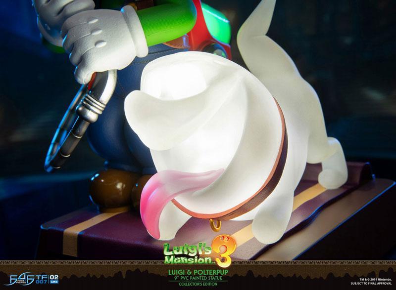 Luigi's Mansion 3/ Luigi 9 Inch PVC Statue Collector Edition 24