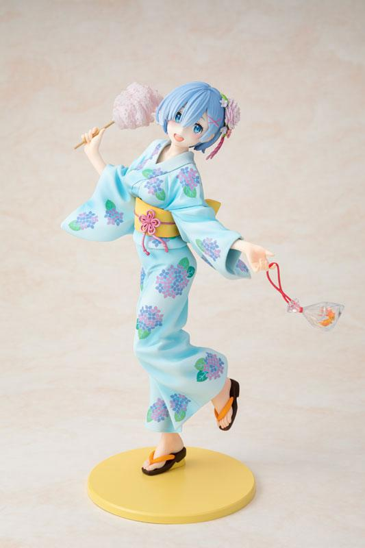 KDcolle Re:ZERO -Starting Life in Another World- Rem Yukata Ver. Repaint 1/7 Complete Figure main