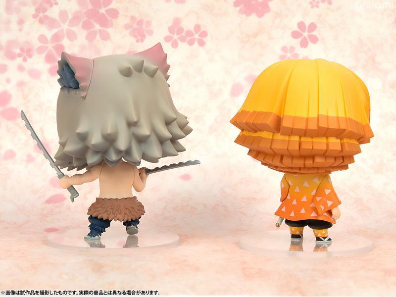 Chimi Mega Buddy Series! Kimetsu no Yaiba Zenitsu Agatsuma & Inosuke Hashibira Set 10