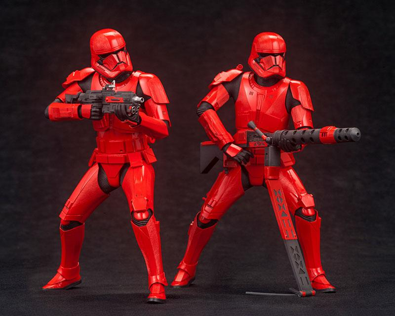 ARTFX+ STAR WARS: THE RISE OF SKYWALKER Sith Trooper 2Pack 1/10 Easy Assembly Kit product