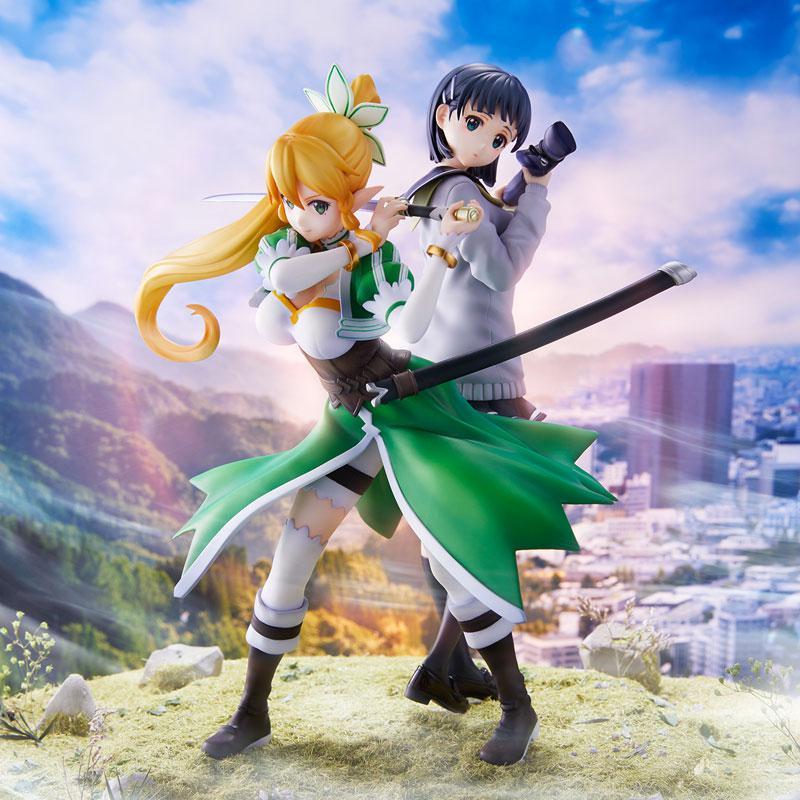 Sword Art Online Leafa & Suguha Kirigaya 2 Figures Set Complete Figures main