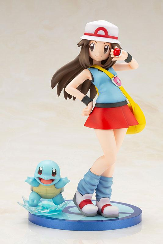 "ARTFX J ""Pokemon"" Series Leaf with Squirtle 1/8 Complete Figure"
