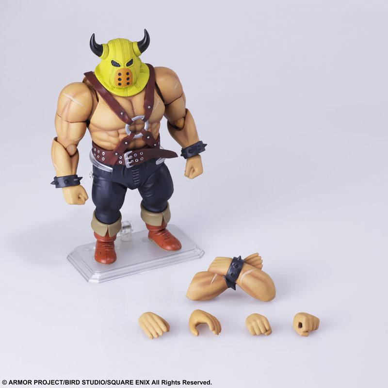 Dragon Quest BRING ARTS Thug Action Figure 5