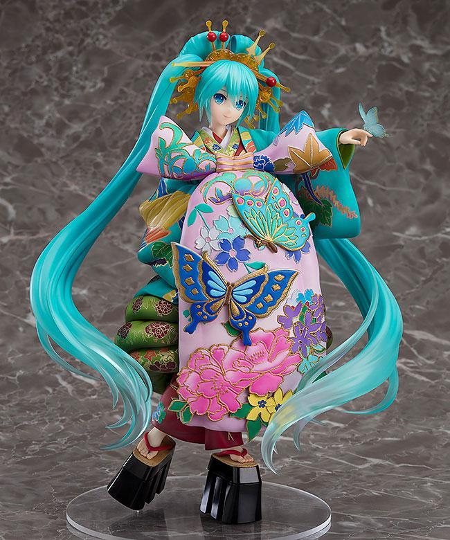 Character Vocal Series 01 Hatsune Miku Chou Kabuki Kuruwakotoba Awasekagami Ver. 1/7 Complete Figure product