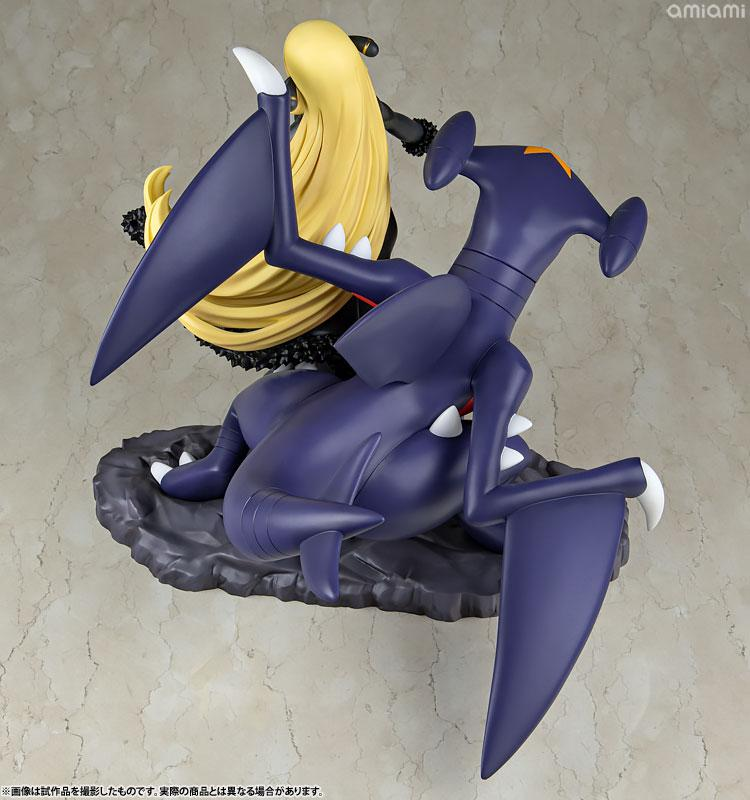 "ARTFX J ""Pokemon"" Series Cynthia with Garchomp 1/8 Complete Figure"