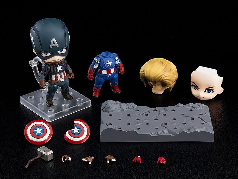 Nendoroid Avengers: Endgame Captain America Endgame Edition DX Ver. main