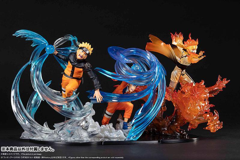 """Figuarts ZERO Naruto Uzumaki -Shippuden- Kizuna Relation """"NARUTO Shippuden"""" 4"""