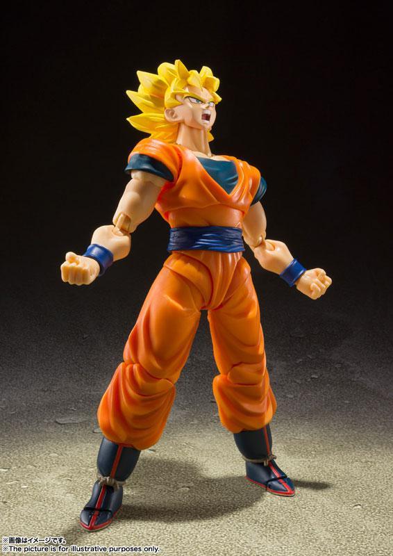 "S.H.Figuarts Super Saiyan Full Power Son Goku ""Dragon Ball Z"" product"