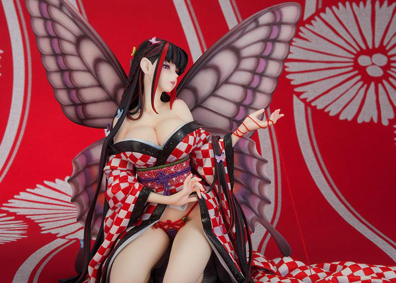 Jin Happoubi Art Collection Red Butterfly -Hoteri- Complete Figure 10