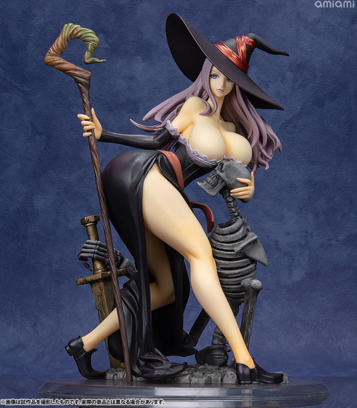 Dragon's Crown Sorceress Darkness Crow ver. 1/7 Complete Figure 0
