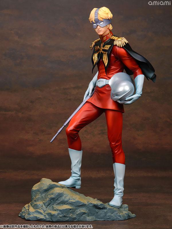 GGG (Gundam Guys Generation) Mobile Suit Gundam Char Aznable 1/8 Complete Figure 24