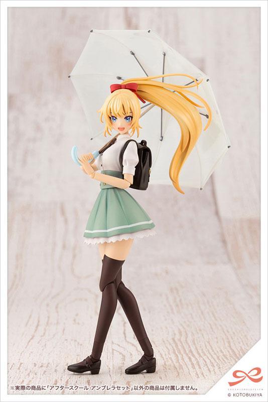 Sousai Shoujou Teien After School Umbrella Set 1/10 Plastic Model