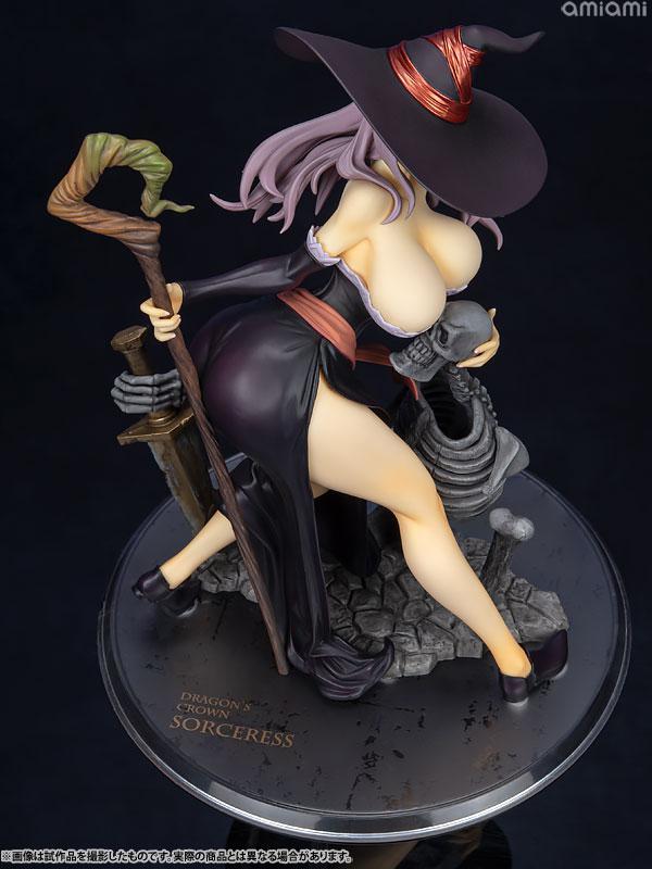 Dragon's Crown Sorceress Darkness Crow ver. 1/7 Complete Figure 10