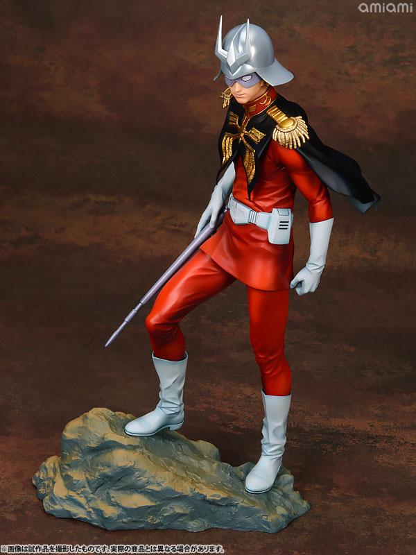 GGG (Gundam Guys Generation) Mobile Suit Gundam Char Aznable 1/8 Complete Figure 10