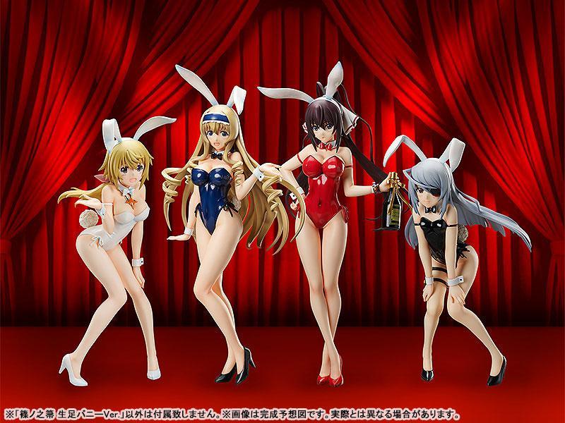 B-STYLE Infinite Stratos Houki Shinonono Bare Leg Bunny Ver. 1/4 Complete Figure