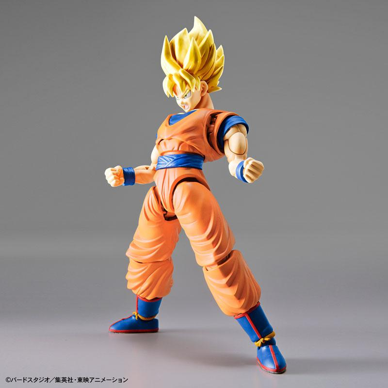 "Figure-rise Standard Super Saiyan Son Goku (Renewal Ver.) Plastic Model ""Dragon Ball"""