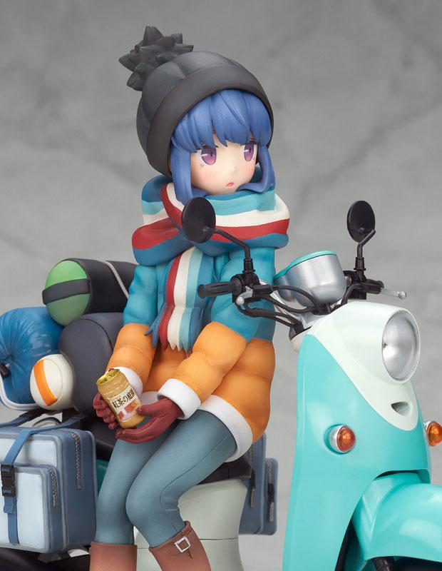 Yuru Camp Rin Shima with Scooter 1/10 Complete Figure 3