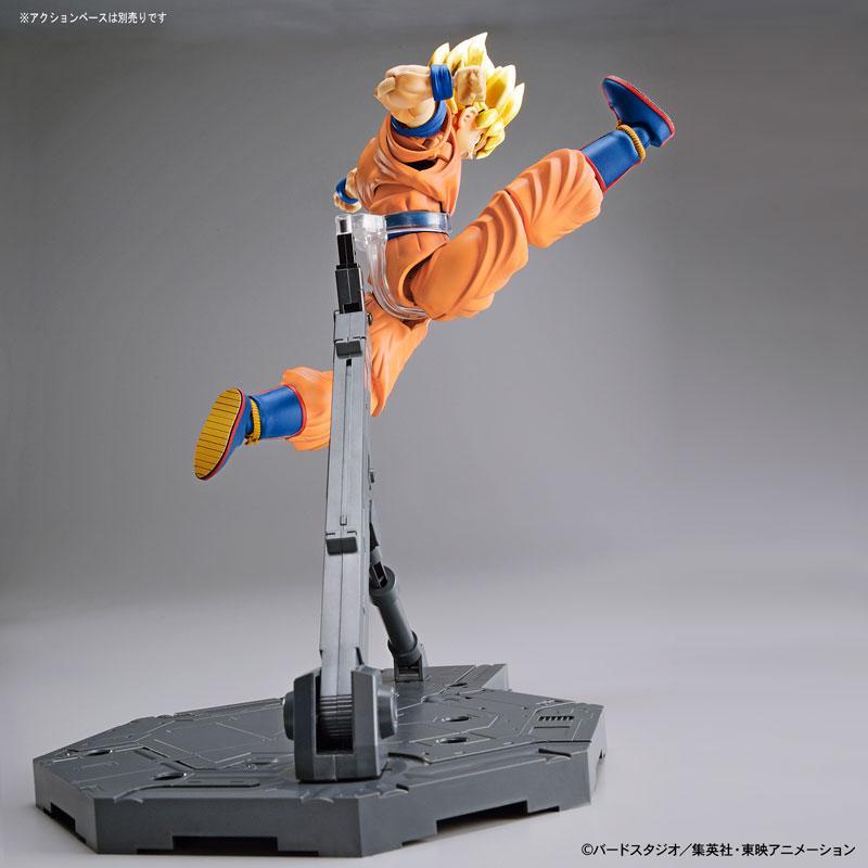 "Figure-rise Standard Super Saiyan Son Goku (Renewal Ver.) Plastic Model ""Dragon Ball"" 6"