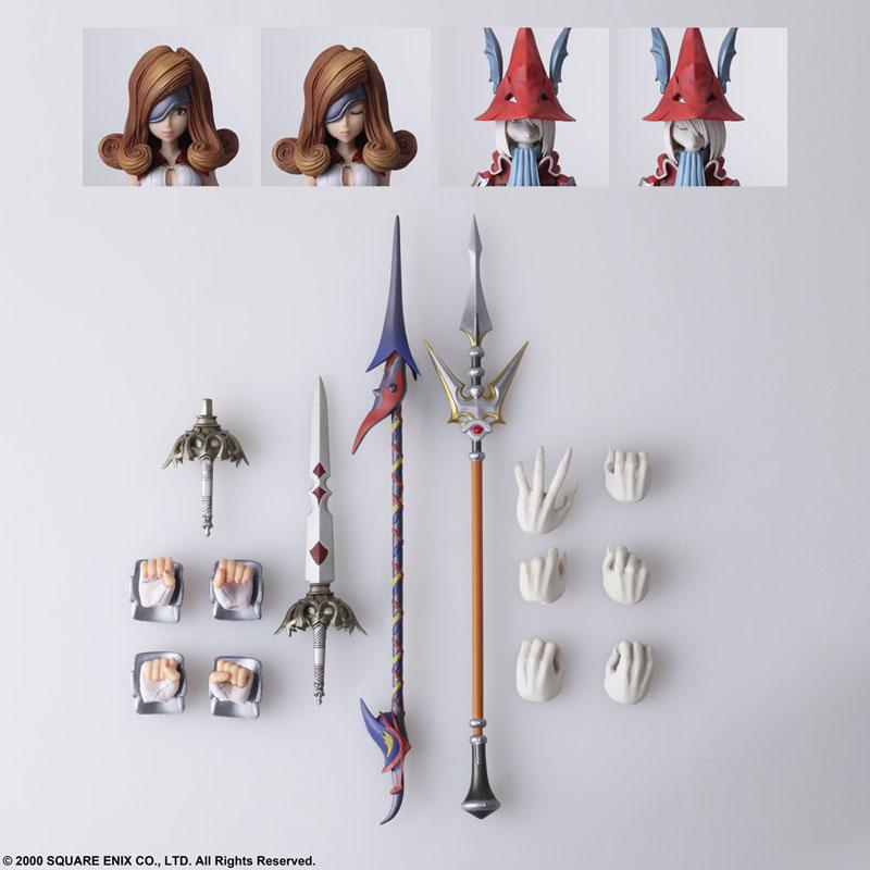 FINAL FANTASY IX BRING ARTS Freya Crescent & Beatrix Action Figure