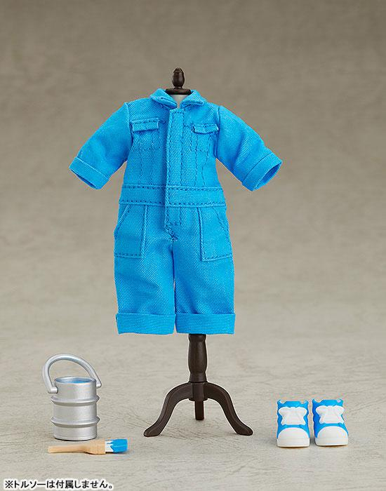 Nendoroid Doll Outfit Set (Colorful Coverall: Blue) 0