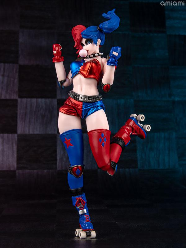 Amazing Yamaguchi No.015EX-2 Harley Quinn Red x Blue Twin-tail .ver (AmiAmi Exclusive Color Edition)