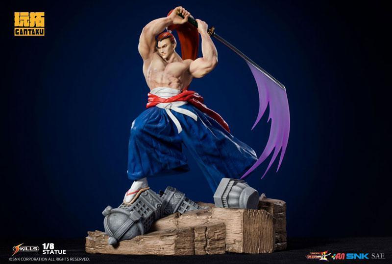 Samurai Shodown 2/ Genjuro Kibagami 1/8 Statue 1