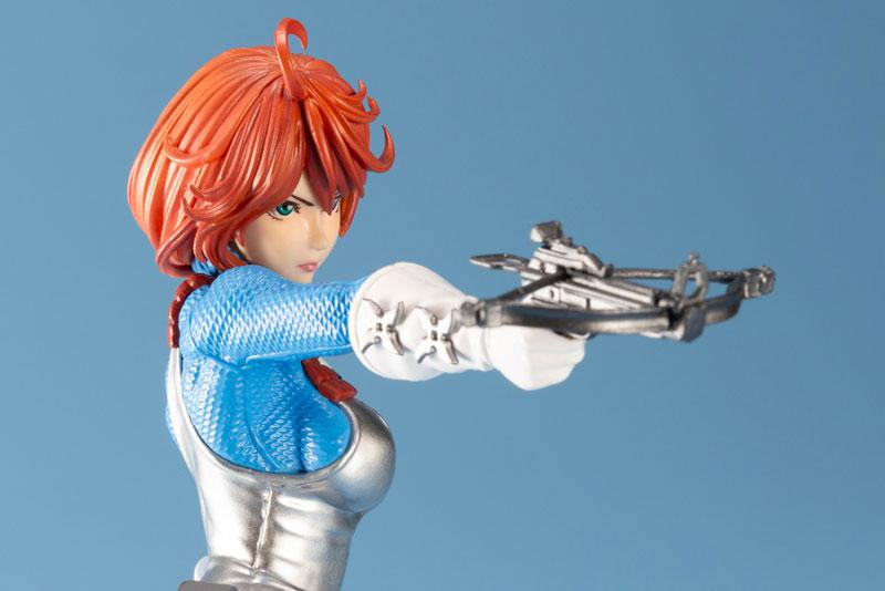 G.I. JOE Bishoujo Scarlett Sky-blue Limited Edition 1/7 Complete Figure 10