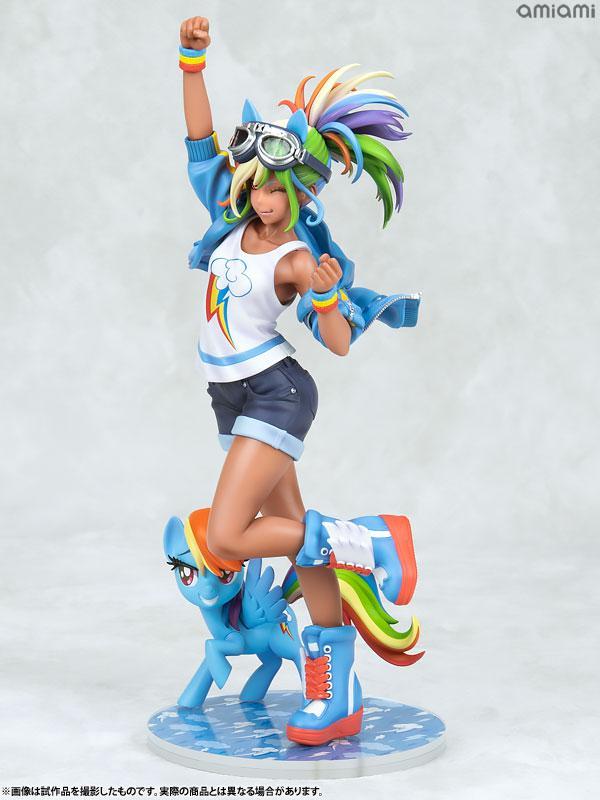 MY LITTLE PONY BISHOUJO Rainbow Dash 1/7 Complete Figure