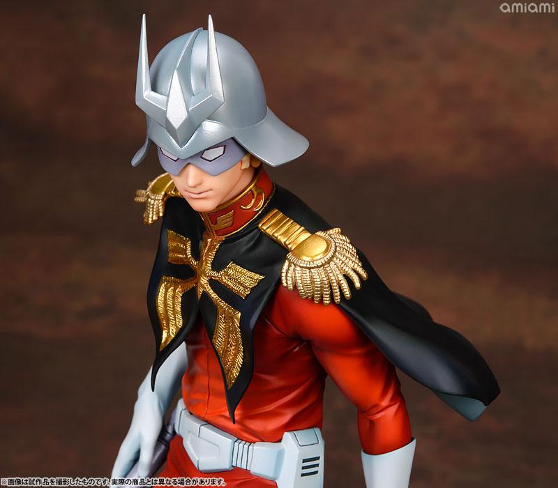 GGG (Gundam Guys Generation) Mobile Suit Gundam Char Aznable 1/8 Complete Figure 17