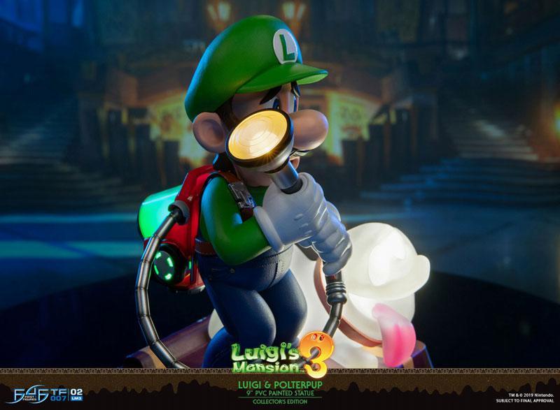 Luigi's Mansion 3/ Luigi 9 Inch PVC Statue Collector Edition 13