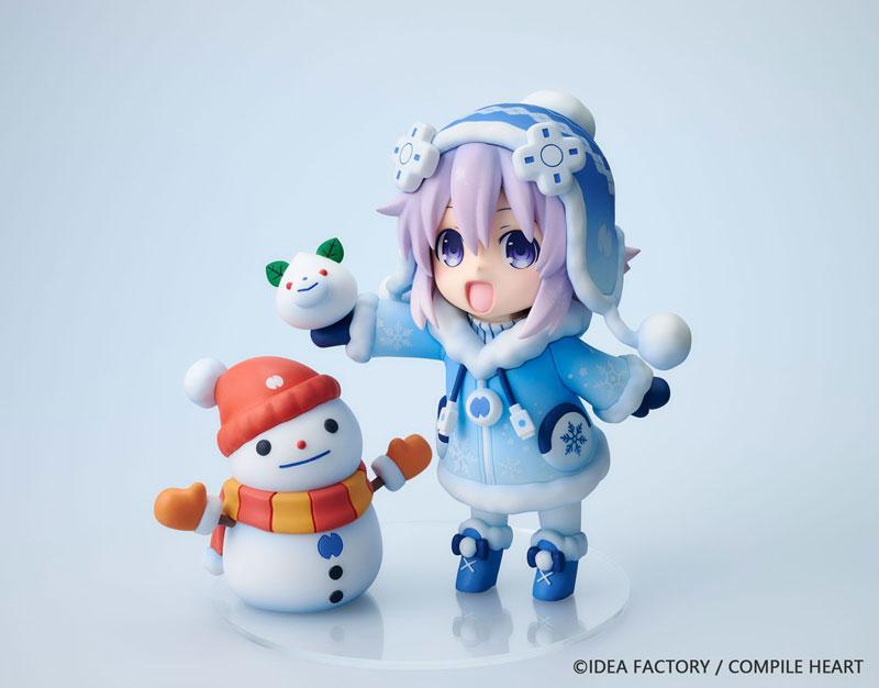 "Dekachiccha! ""Neptunia"" Series Snow Nepu Normal Version Complete Figure product"
