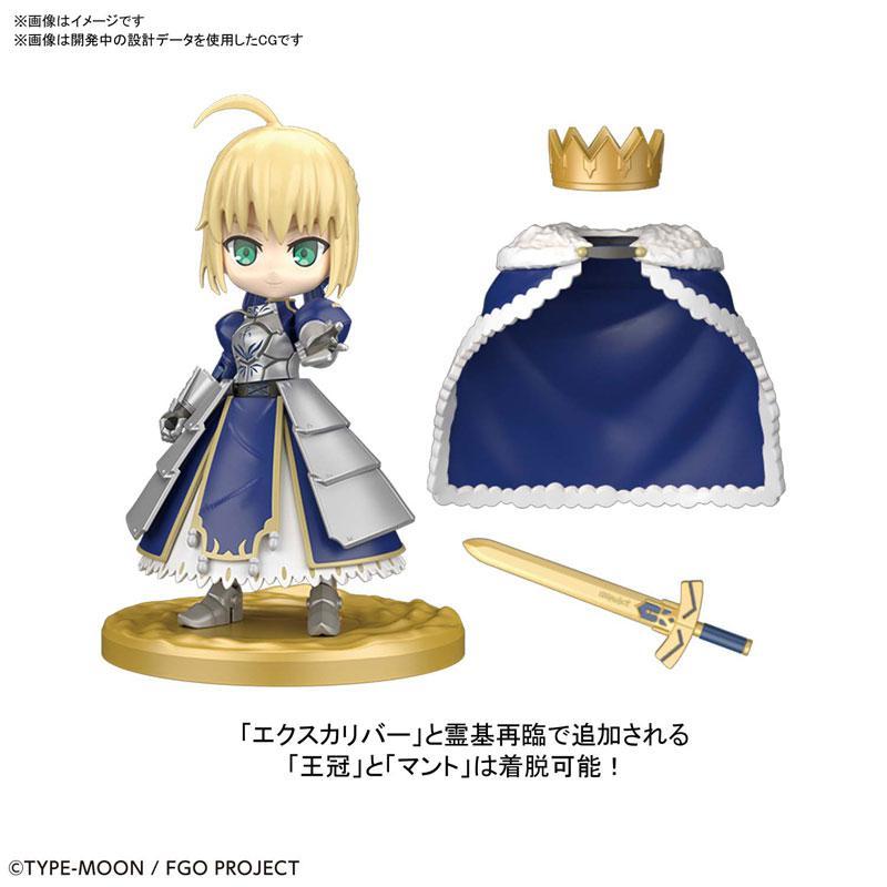 """Puchirittsu Saber/Altria Pendragon Plastic Model """"Fate/Grand Order"""" 2"""