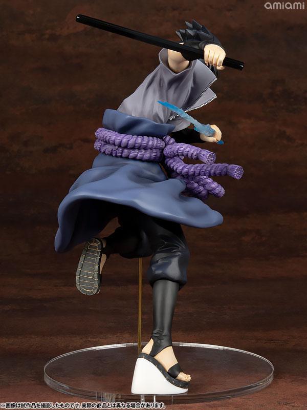 G.E.M. Series NARUTO Shippuden Sasuke Uchiha Shinobi World War ver. Complete Figure