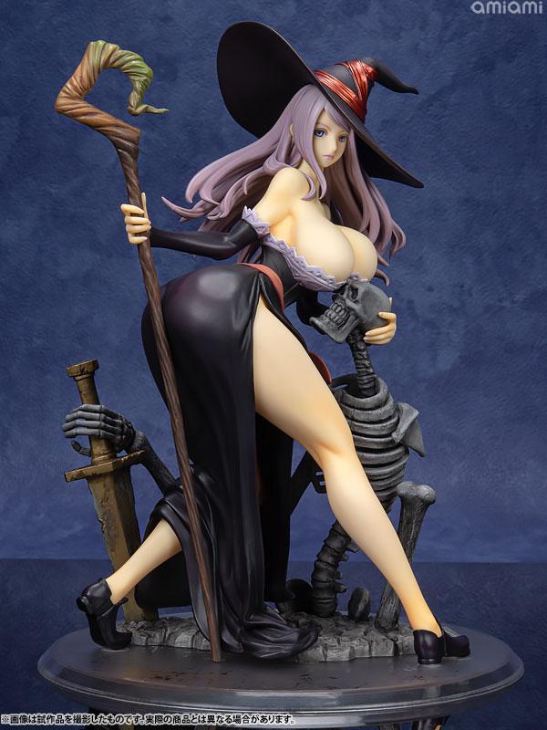 Dragon's Crown Sorceress Darkness Crow ver. 1/7 Complete Figure main