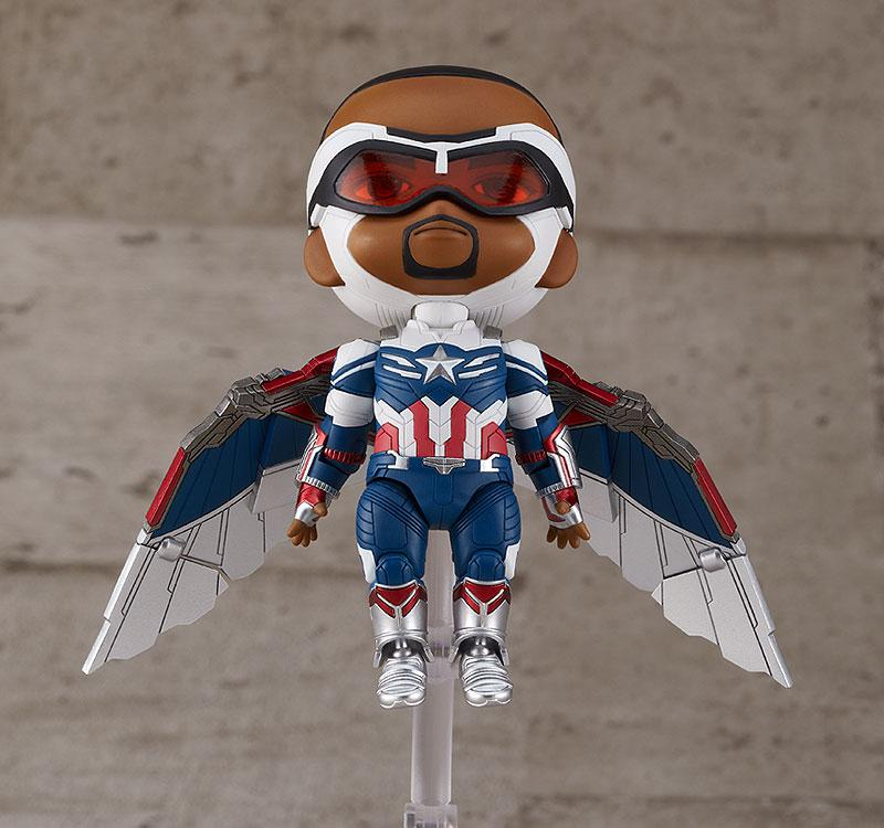 Nendoroid Falcon & Winter Soldier Captain America (Sam Wilson) DX