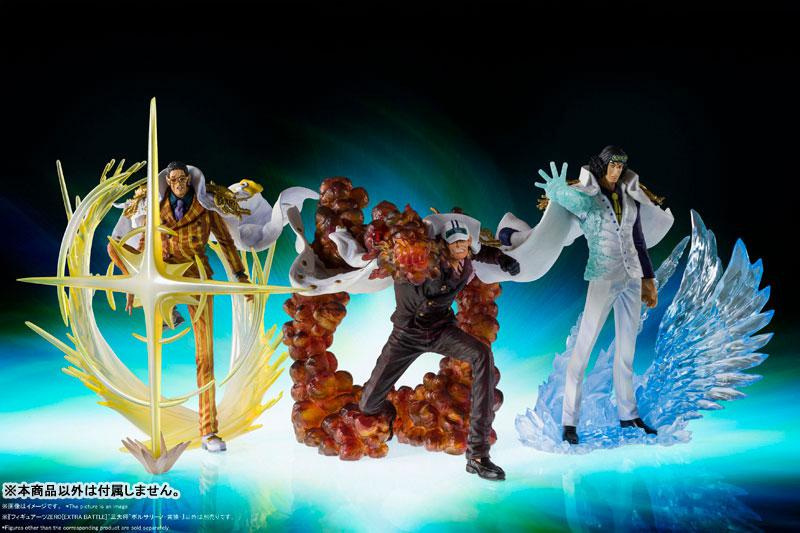 "Figuarts ZERO [EXTRA BATTLE] ""The 3 Admirals"" Borsalino -Kizaru- ""ONE PIECE"" 4"