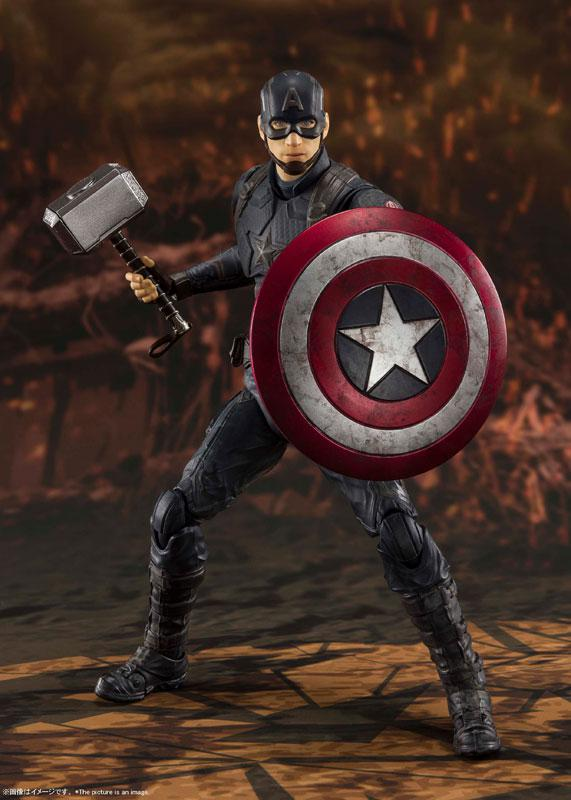 S.H.Figuarts Captain America -[FINAL BATTLE] EDITION- (Avengers: Endgame)