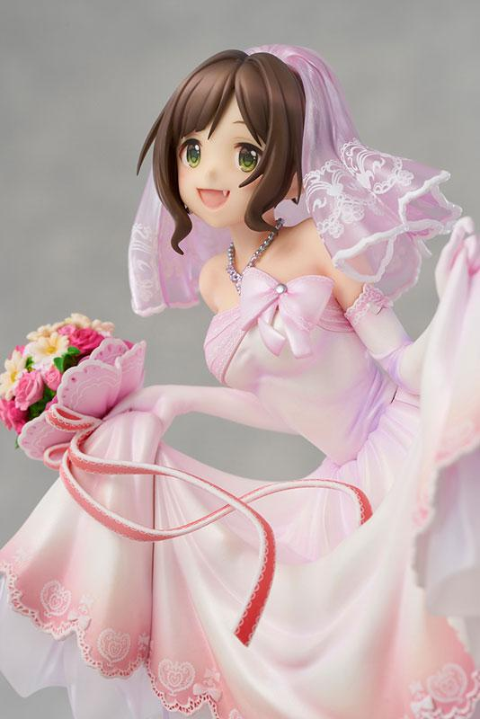 THE IDOLM@STER Cinderella Girls Miku Maekawa Dreaming Bride ver. Limited Edition 1/7 Complete Figure 3