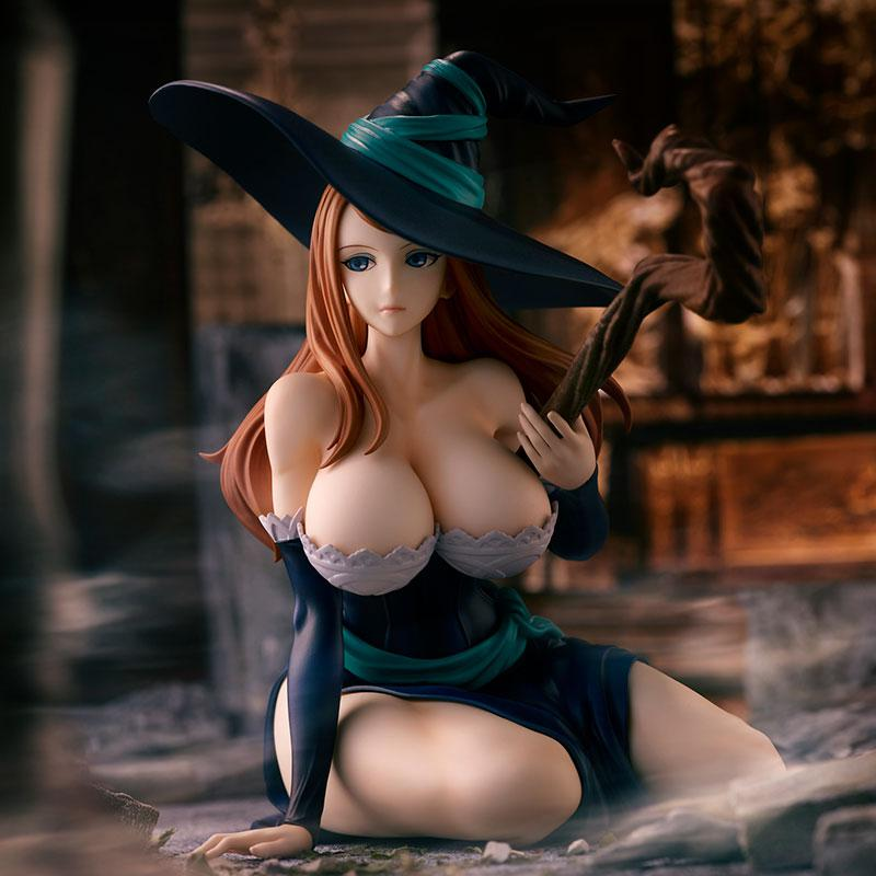 """Dragon's Crown"" Sorceress Deep Blue Ver. Complete Figure"