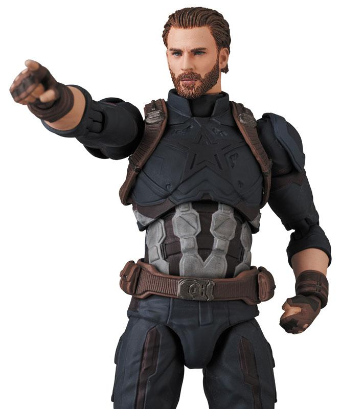 MAFEX No.122 MAFEX CAPTAIN AMERICA (INFINITY WAR Ver.) 8