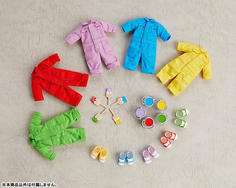 Nendoroid Doll Outfit Set (Colorful Coverall: Red) 1