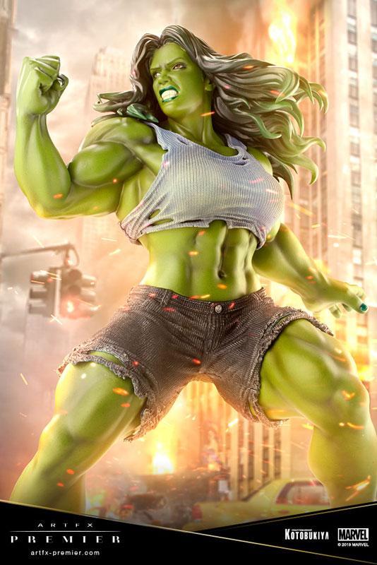 ARTFX PREMIER MARVEL UNIVERSE She-Hulk 1/10 Easy Assembly Kit product