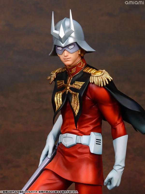 GGG (Gundam Guys Generation) Mobile Suit Gundam Char Aznable 1/8 Complete Figure 7