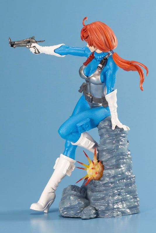 G.I. JOE Bishoujo Scarlett Sky-blue Limited Edition 1/7 Complete Figure