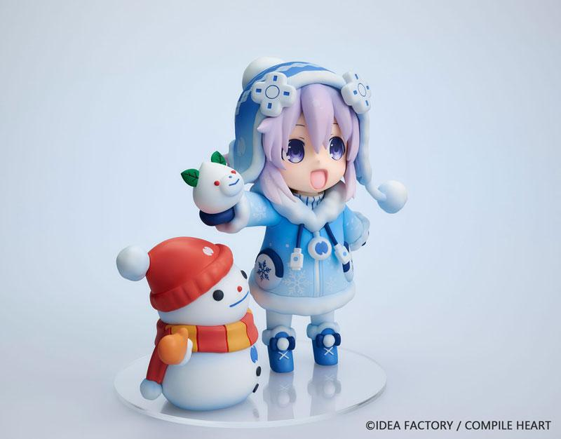 "Dekachiccha! ""Neptunia"" Series Snow Nepu Normal Version Complete Figure"