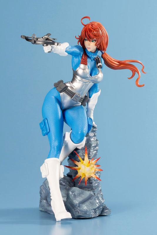 G.I. JOE Bishoujo Scarlett Sky-blue Limited Edition 1/7 Complete Figure 6